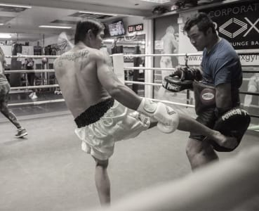 corporate box gym muay thai